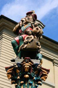 Man eating babies in Berne
