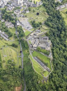 Stirling Castle aerial view