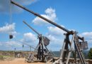 Three trebuchets in France