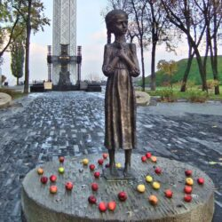 Holodomor memorial statue