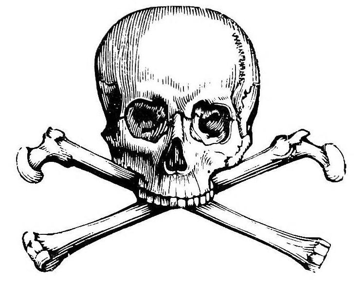 Skull-and-crossbones symbol