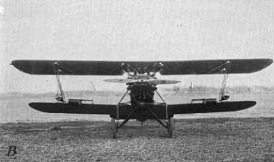 Biplane with insect traps
